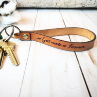 Engraved Keychain Loops