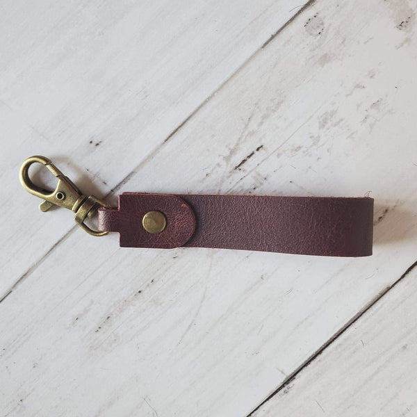 Mini Keyloop - Smooth Leather