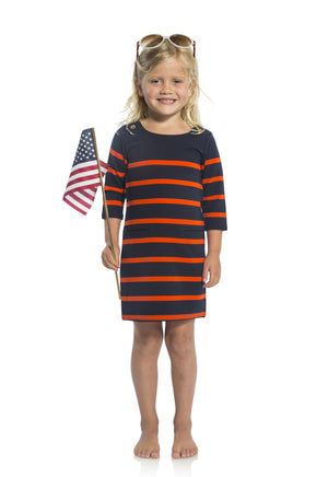 Perfectly Patriotic: Kids Shift Dress