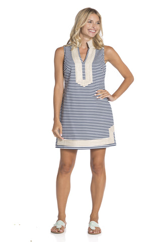 The Slub Sleeveless Tunic Dress