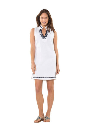 Nautical and Nice Tunic White