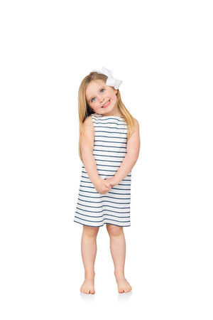 Little Ladies Stretch Cotton Sleeveless Dress