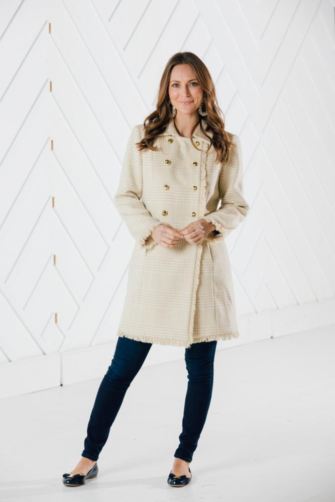 Sail to Sable DOUBLE BREASTED COAT