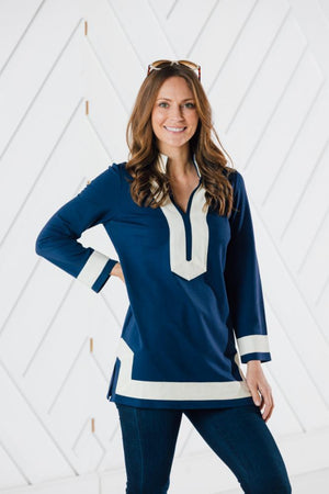 Long Sleeve Classic Tunic Top