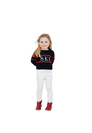 Kids Intarsia Sweater Ski