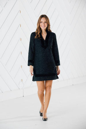 Sparkle Knit Tunic Dress