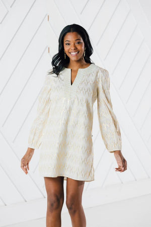 Shimmer & Shine Long Sleeve Dress