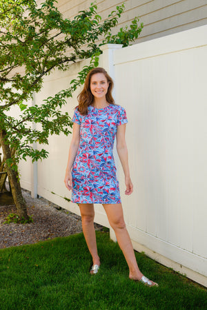 Short Sleeve TShirt Dress - Available in Two Colors