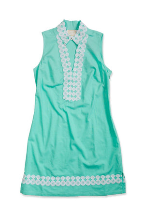 Sleeveless Classic Tunic Mint