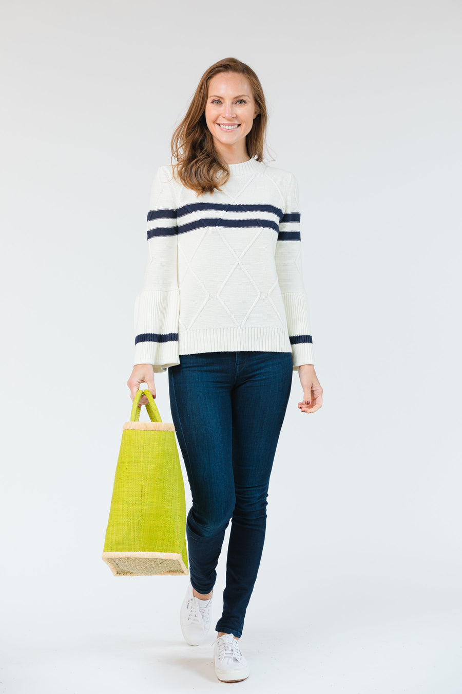 Elizabeth Striped Sweater