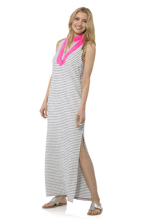French Terry Sleeveless Classic Maxi