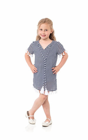 Kids Short Sleeve Tunic Dress