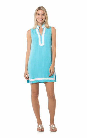 Sleeveless Classic Tunic Ocean