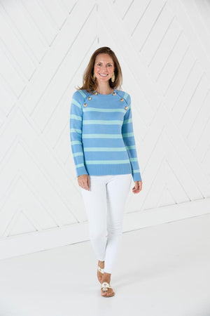 Long Sleeve Button Front Sweater