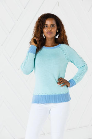 Pom Pom Sweater - Two Colors