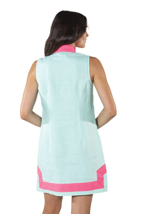 Sleeveless Classic Tunic Beachglass