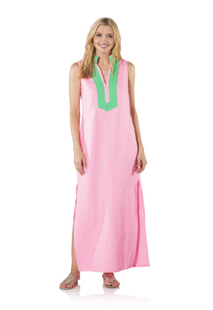 Sleeveless Classic Maxi Tunic