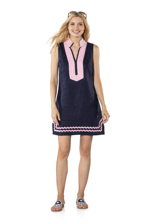 Sleeveless Tunic with Ric Rac