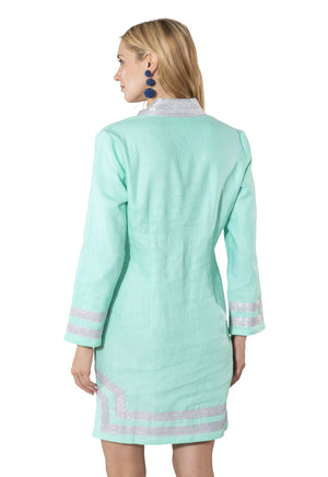 Long Sleeve Classic Tunic Cabbage