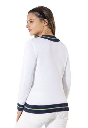Long Sleeve Varsity Sweater