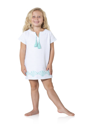 Kids Short Sleeve Terry Dress