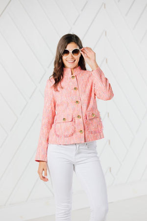 Neon Nights Short Button Up Jacket