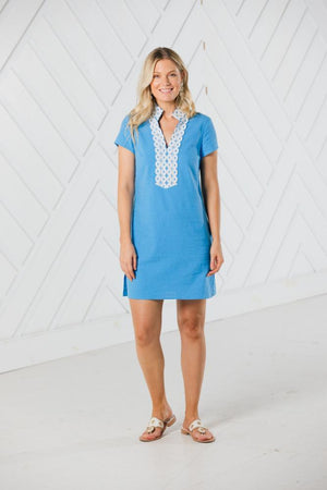 Short Sleeve Tunic Dress (two colors)