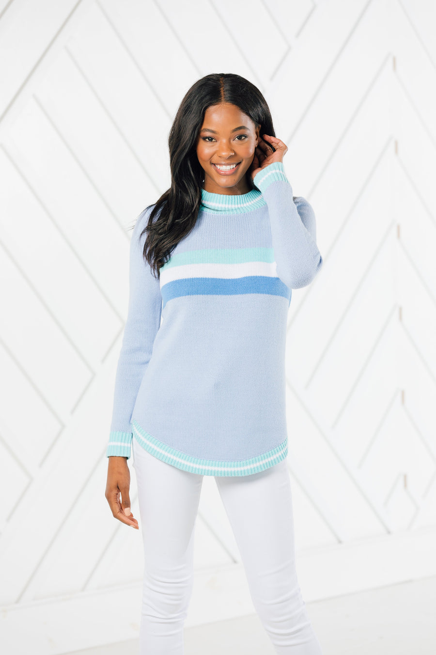 Round Hem Sweater (two colors)