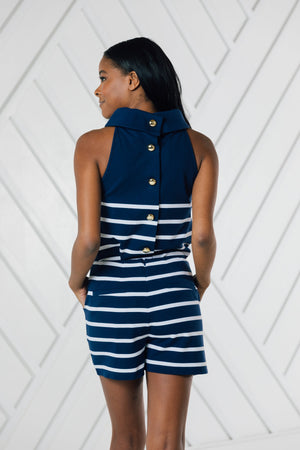 Stripe Sailor Short
