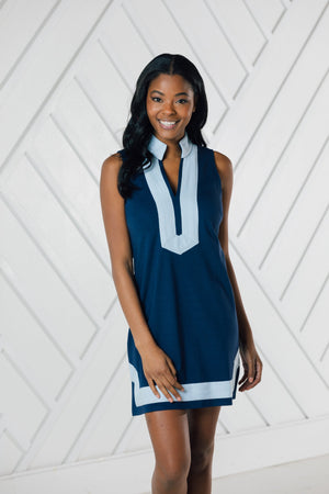 Sleeveless Classic Tunic - Available in Two Colors