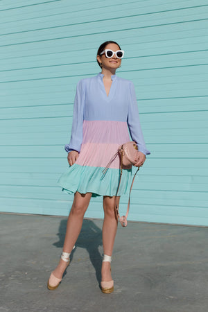 Charlotte Color-Blocked Dress