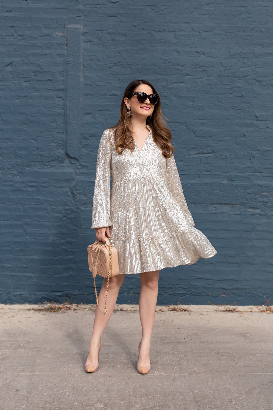 Charlotte Sequin Dress