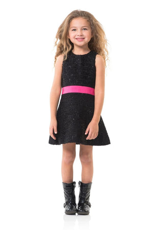 Black Peppermint Fit-and-Flare, Kids