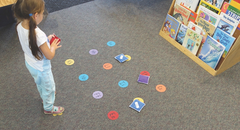 Letter/Sound Recognition Floor Game