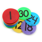 Numbers 1-30 Pack - Multi Colors