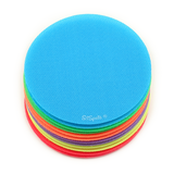 12 Bright Color Circle Pack