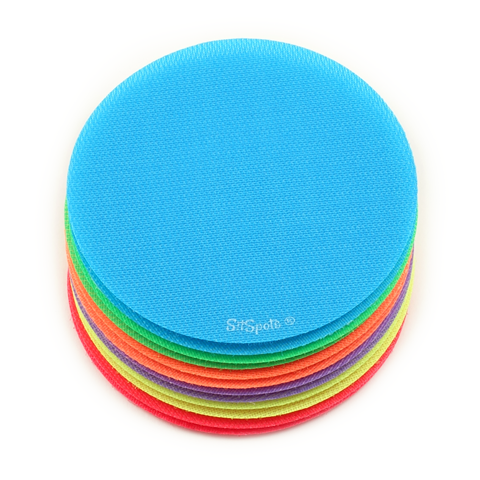 "12 Bright Circle Pack (4"" Regular Size)"