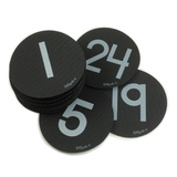 Numbers 1-24 Pack - Black