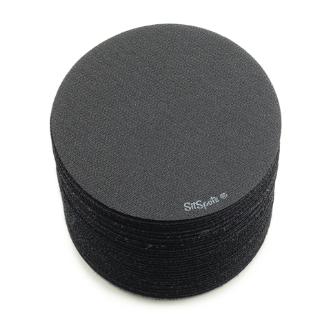 "30 Black Color Circle Pack (4"" Regular Size)"