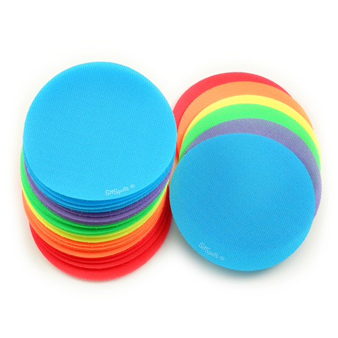 "30 Bright Color Circle Pack (4"" Regular Size)"