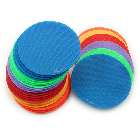 "30 Multi Color Circle Pack (4"" Regular Size)"