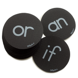 Sight Word Circle Pack - Black (Fry List 2)