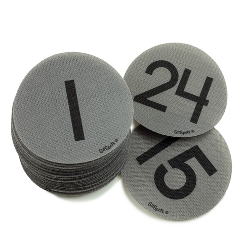 Numbers 1-24 Pack - Gray