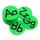 Alphabet Bright Green Circle Pack
