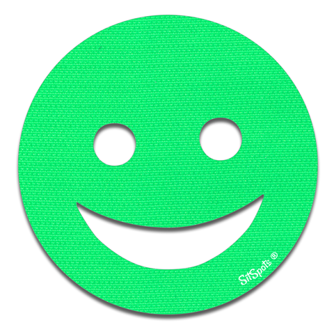 Happy Face - Bright Green