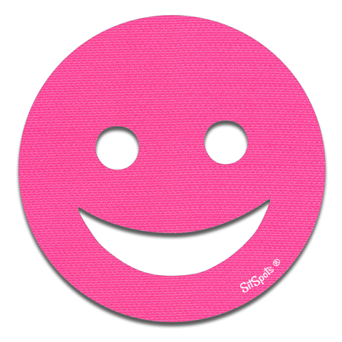 Happy Face - Bright Pink