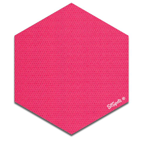 Hexagon - Pink