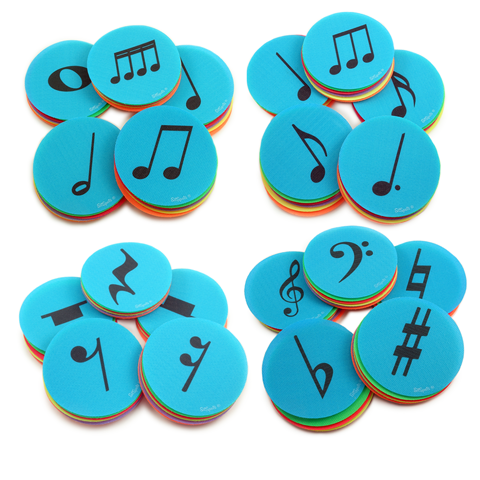 Music Notes Complete Set Pack