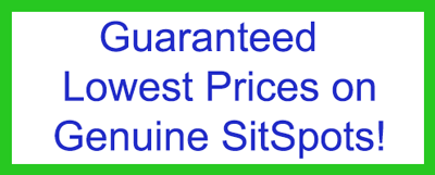 Guaranteed lowest prices on genuine SitSpots products!