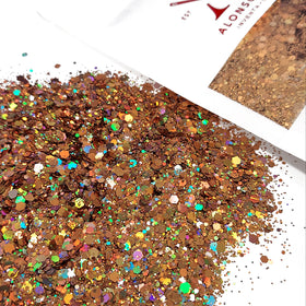 Rose Gold AB Mix, Chunky Glitter, 2oz